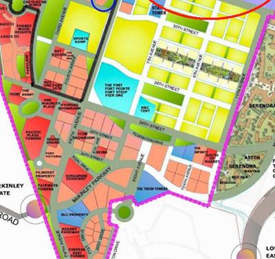 Global City Master Planning Parking