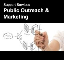 Support Services - Public Outreach & Marketing